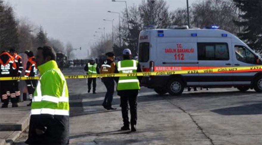 Kayseri'deki patlamada şehit sayısı 15'e yükseldi