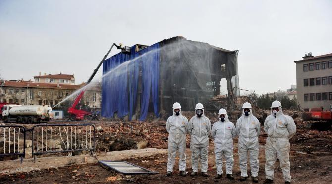 Asbestli Havagazı Fabrikası'nın yıkımında çevre sağlığı uyarısı