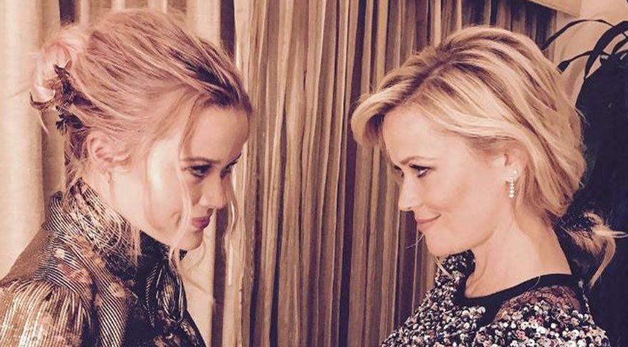 Reese Witherspoon ve kızı Ava görenleri şaşırttı