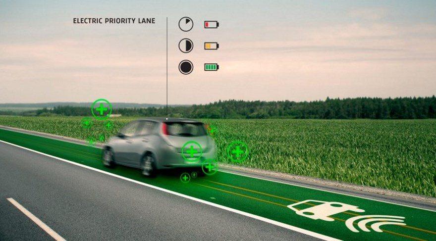 Honda elektrikli arabaları şarj eden yollar yapacak