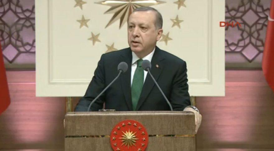 Erdoğan TÜBA töreninde konuştu