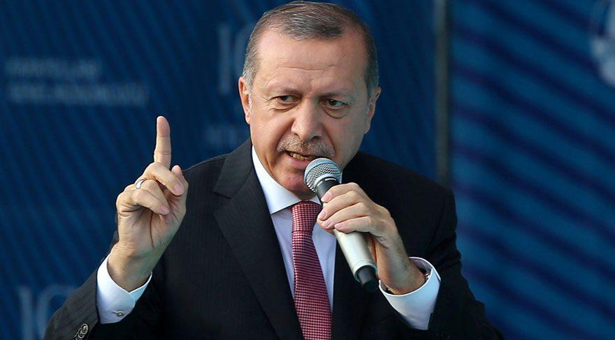Erdoğan: Nefsin için mücadele verecek kadar karaktersiz değilim