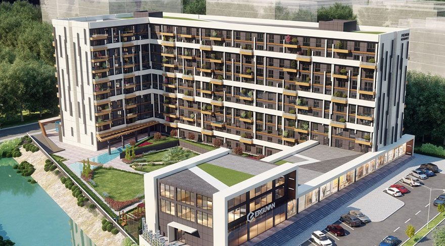 Erguvan Premium Residence görücüye çıktı