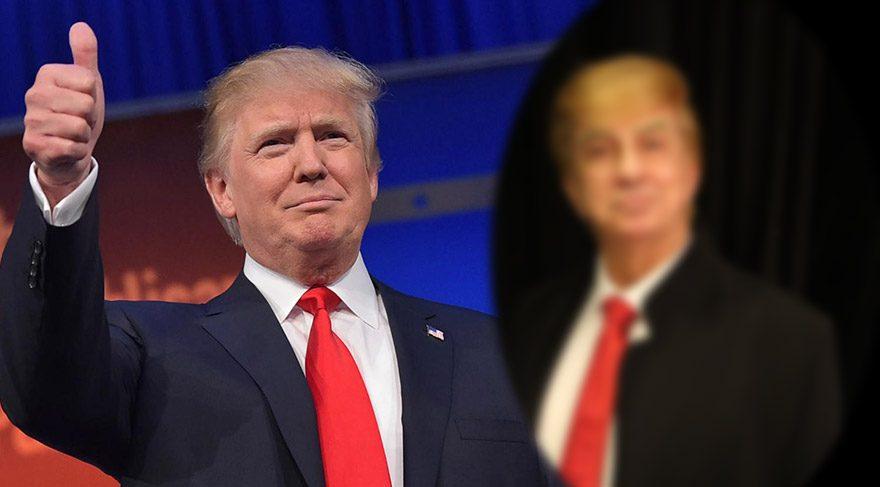 Erhan Yazıcıoğlu yeni oyununda Donald Trump olacak