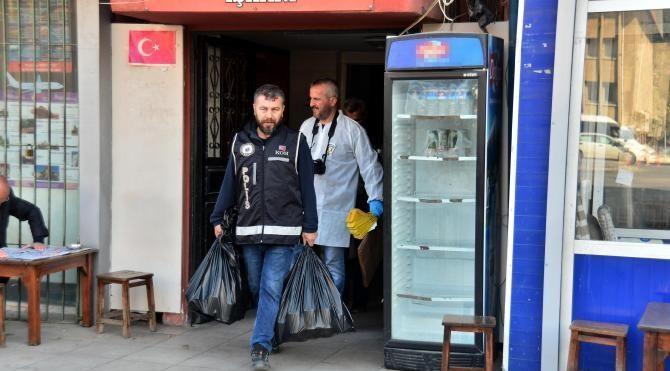 Adana'da sahte içki imalathanesine baskın