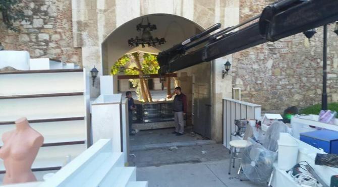 Kervansarayın müze olması için kampanya