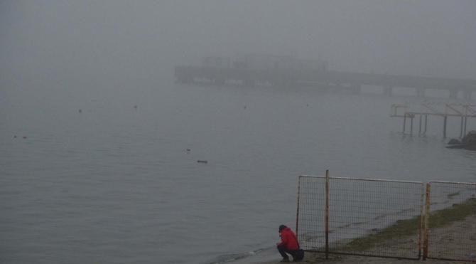 Tekirdağ'da sis etkili oldu