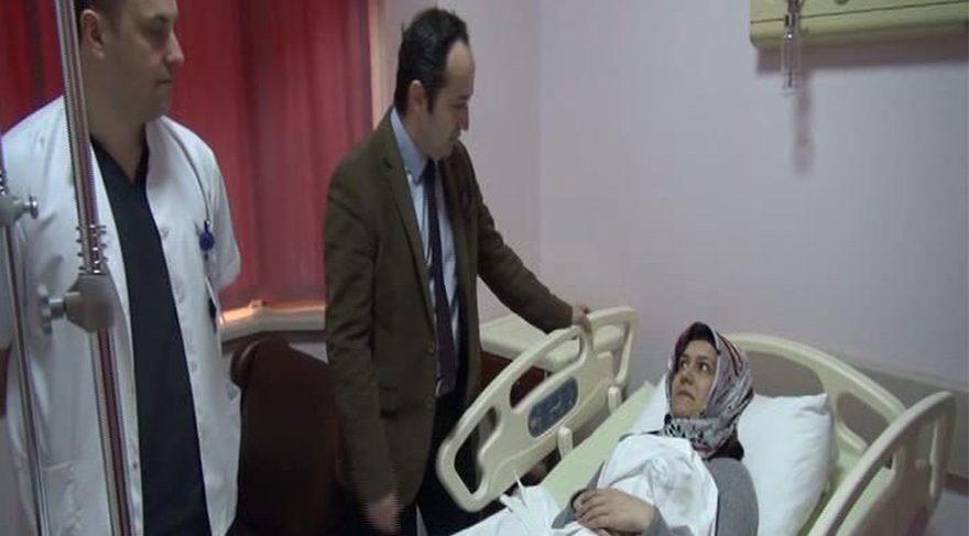 Bu ameliyat Türkiye ilk kez yapıldı… 10 yıllık ağrısı geçti