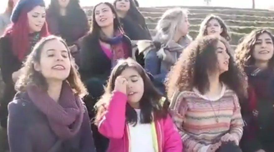 Kadınlardan çok farklı 'hayır' şarkısı