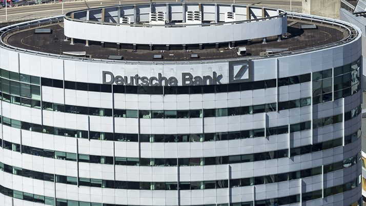 Deutsche Bank 2016'da 1,4 milyar euro zarar etti