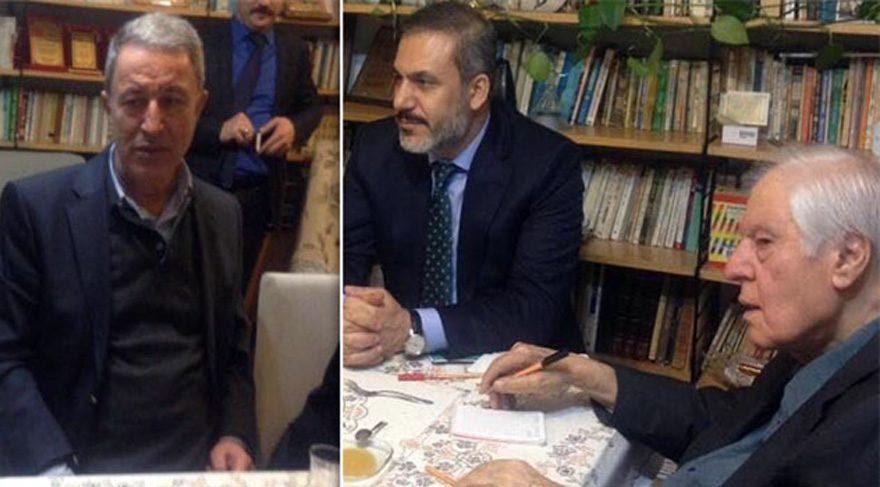Genelkurmay Başkanı Hulusi Akar, Nuri Pakdil'le ne görüştü?