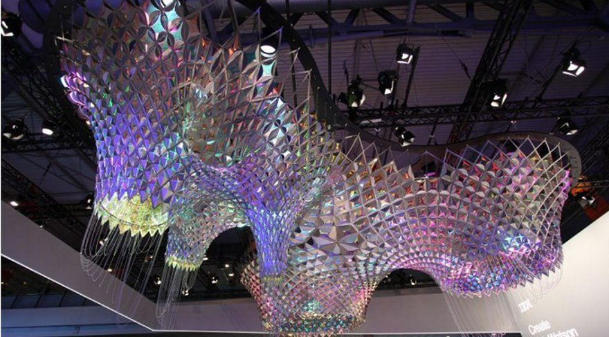 IBM Watson'un yapay zekası, Gaudi'nin sanatını diriltti