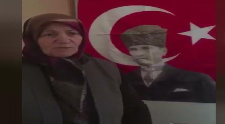 Tuncay Özkan'ın paylaştığı video sosyal medyayı salladı: İzmir Marşı'nı söyleyen teyze