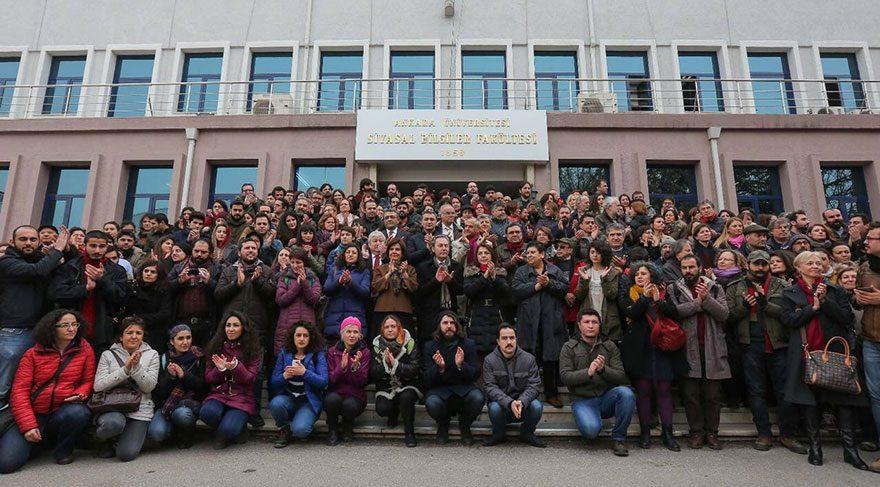 En çok ihracın yaşandığı Ankara Üniversitesi: Hayır gitmiyoruz, kampüsleri terk etmiyoruz