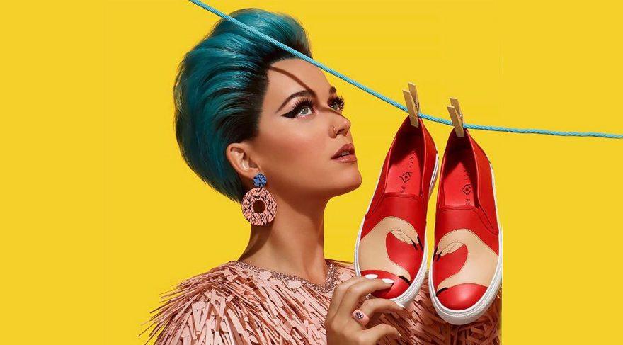 Katy Perry tasarımcı oldu