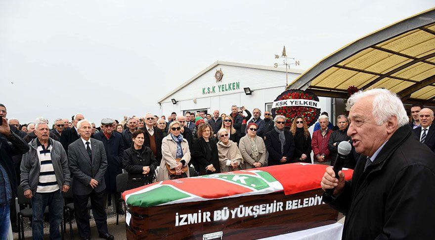 Karşıyaka'nın simge ismi son yolculuğa uğurlandı