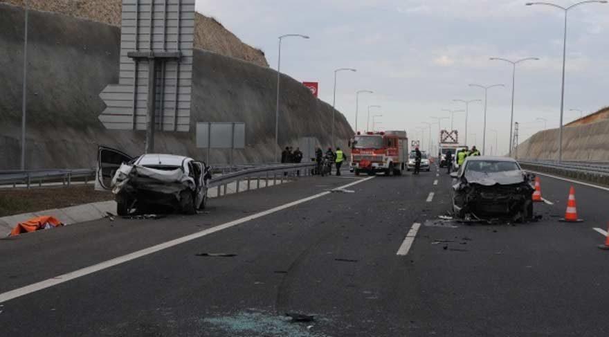 Osmangazi Köprüsü'nde feci kaza: 1 ölü, 5 yaralı