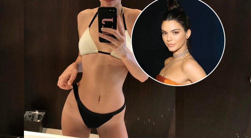 Kendall Jenner'dan iddialı poz
