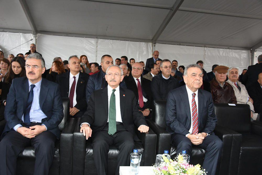 FOTO:DHA - Törene CHP lideri Kemal Kılıçdaroğlu da katıldı.