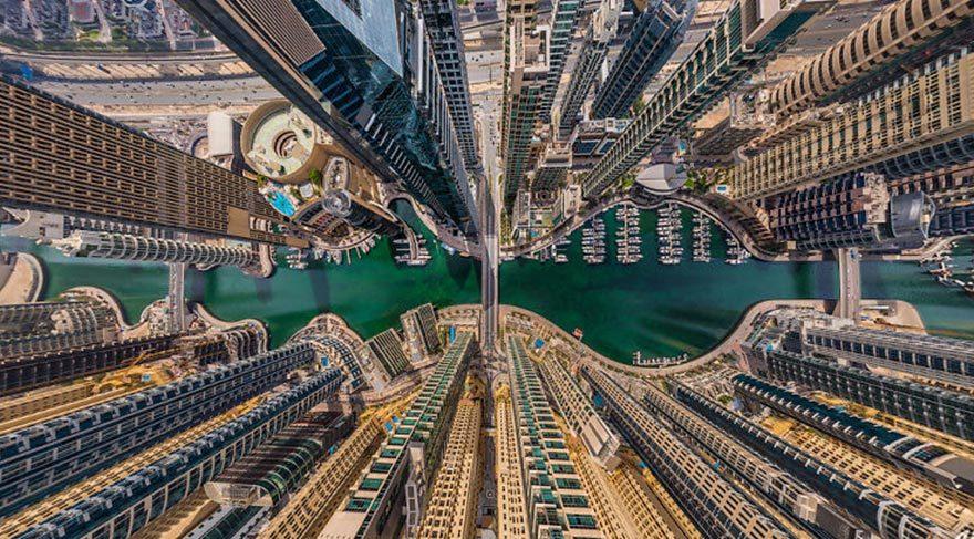 Dünyanın en güzel şehirlerinin kuş bakışı görüntüsü