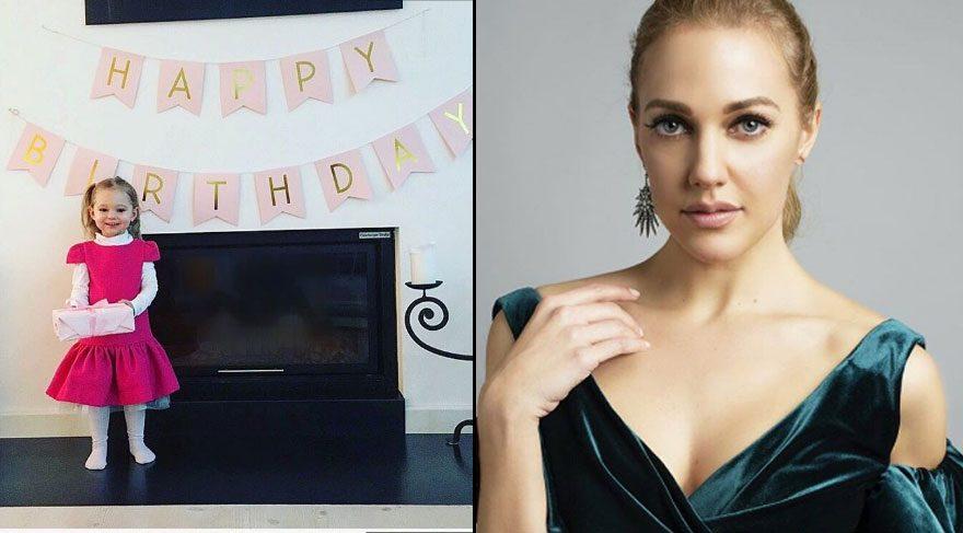 Meryem Uzerli, kızı Lara'nın doğum gününü kutladı