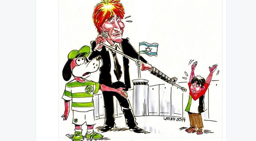 Carlos Latuff, Trump'u çizdi