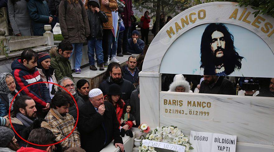Barış Manço, 18. yılında mezarı başında anıldı