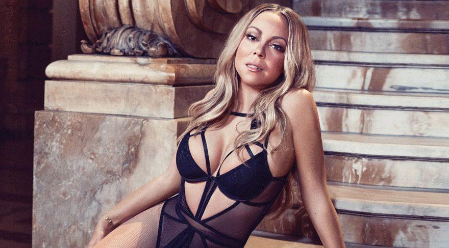 Ünlü şarkıcı Mariah Carey 900 bin TL'lik gelinliğini yaktı