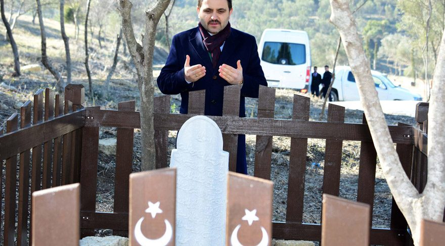 Mehmet Çavuş'un mezarı 102 yıl sonra gün yüzüne çıktı