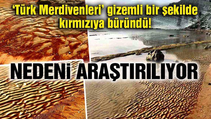 İtalya´da Türk Merdivenleri´nin kırmızıya dönme nedeni araştırılıyor