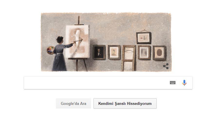Mihri Müşfik Hanım kimdir? Google'dan Türk ressama jest