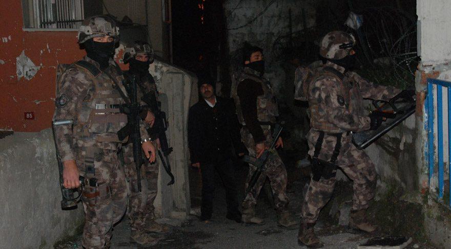 Son dakika: İstanbul'da şafak operasyonu