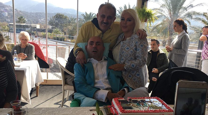 Safiye Soyman, oğlunun doğum gününü kutladı