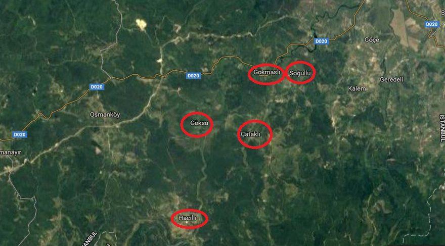 Şile'de 12 köy sular altında kalacak