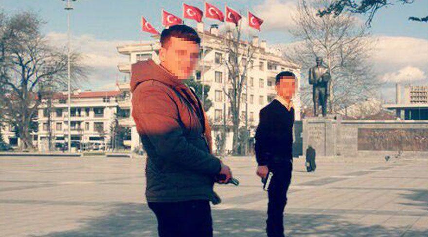 Tepki çeken paylaşımlardan sonra gözaltına alındılar