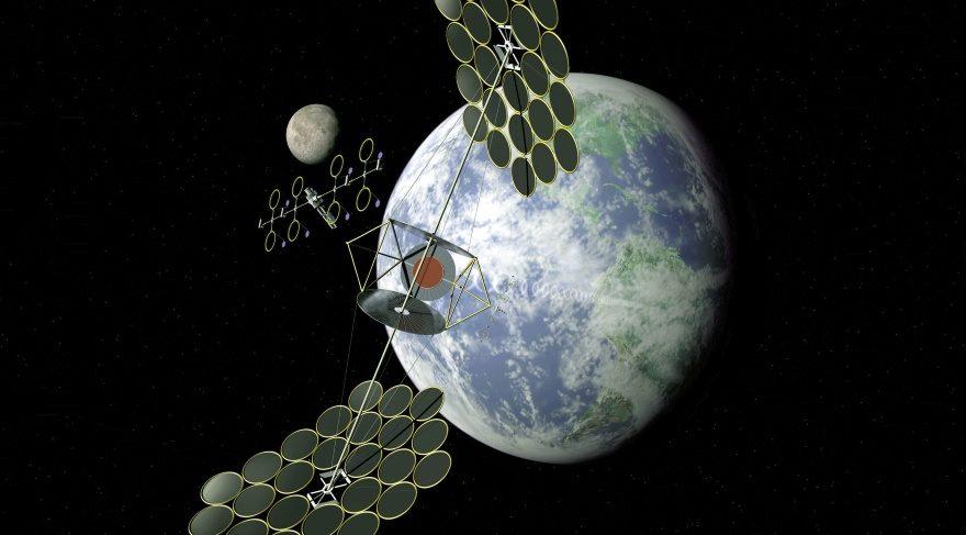 Yörüngede uydu ile güneş enerjisi toplamak mümkün