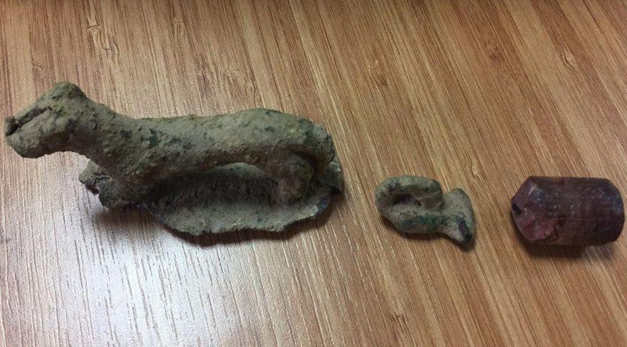 Ülkesinden kaçırdığı 4 bin yıllık tarihi eserle yakalandı!