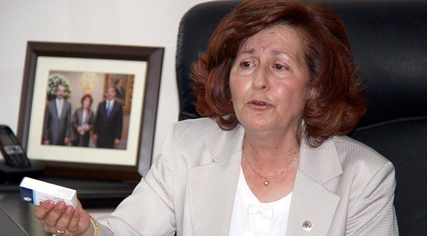 TEİS Genel Başkanı Nurten Saydan FOTO:DHA