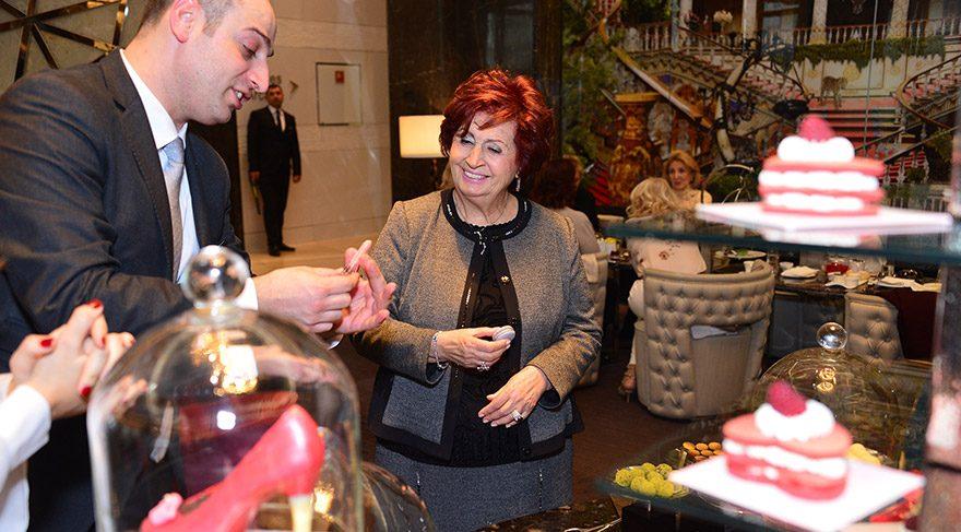 Türkan Sabancı, Raffles İstanbul'daki özel çay davetine katıldı