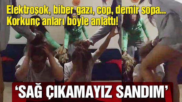 Trabzon'da öğrenci evinde darp edilen kız konuştu