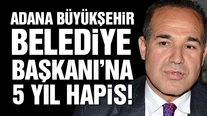 Başkan Sözlü'ye 5 yıl hapis cezası!
