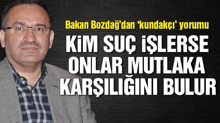 Bozdağ: Fettullah Gülen'in darbe teşebbüsünde bulunduğuna dair bilgiler bizden daha fazla ABD'de vardır