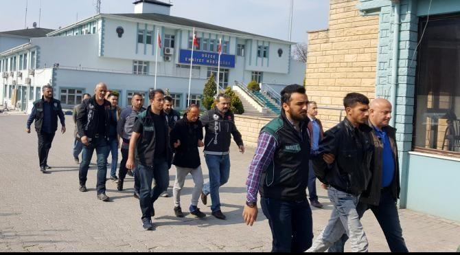 Düzce'de uyuşturucu operasyonu: 9 gözaltı