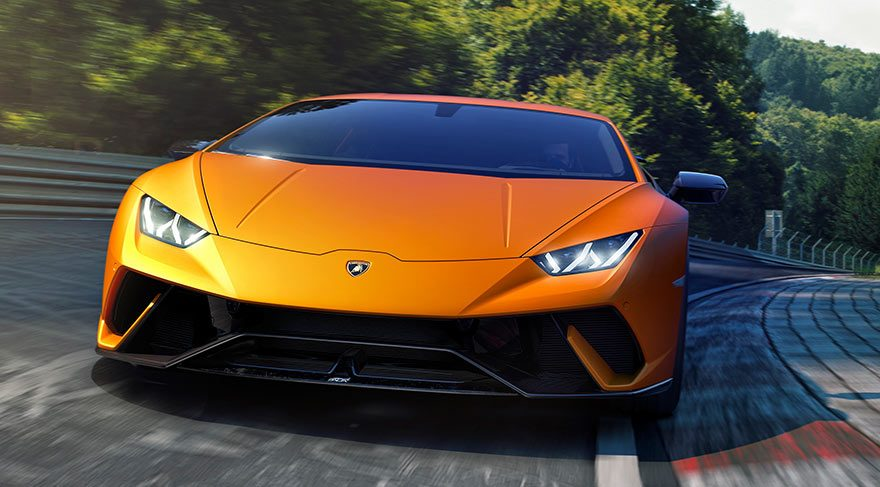 İşte Huracan Performante!