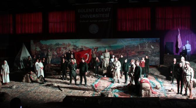 Zonguldak'ta Çanakkale Zaferi kutlandı