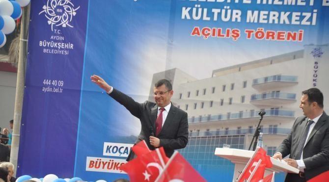 Aydın Büyükşehir'den Koçarlı'ya modern belediye hizmet binası