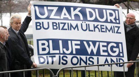 Times: Wilders partisinin kan kaybını durdurmak için Erdoğan'ı 'diktatörlükle' suçladı