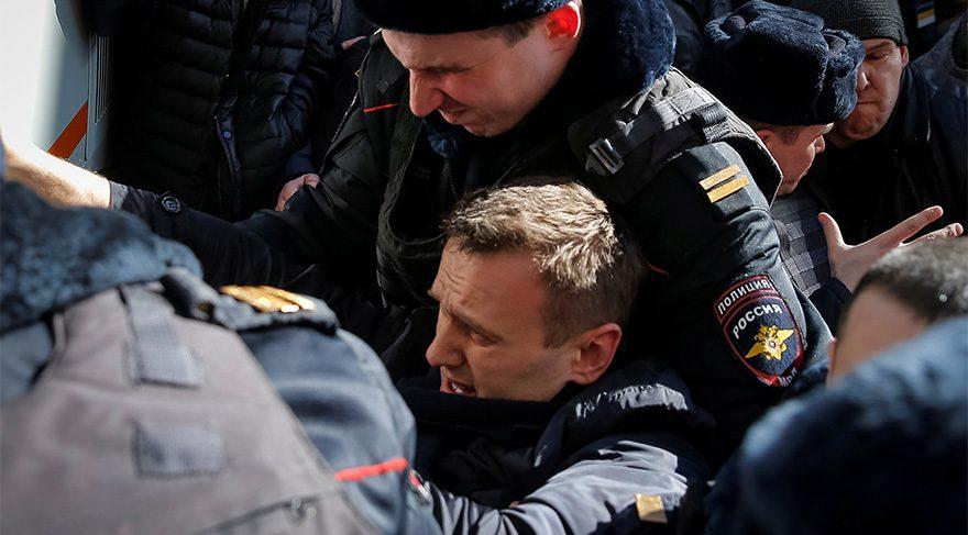 Rusya'da Hükûmet Karşıtı Gösteriler…