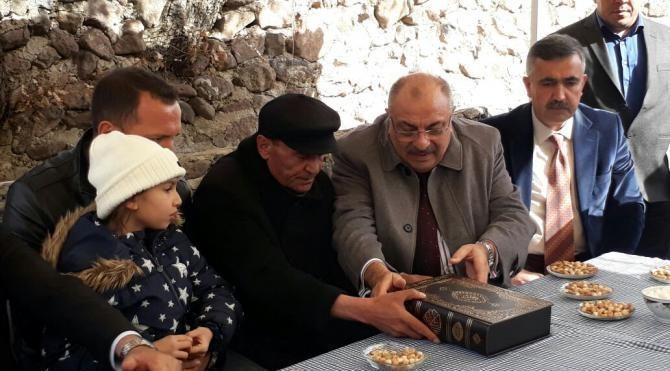 Başbakan Yardımcısı Türkeş'ten şehit ailesine taziye ziyareti