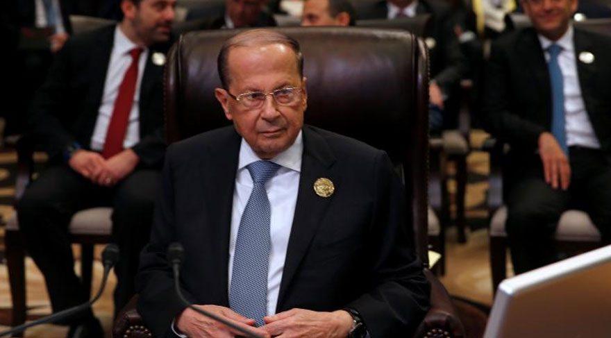 Lübnan Cumhurbaşkanı fena düştü